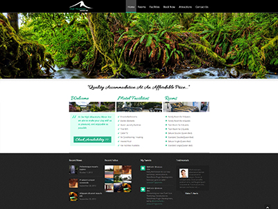 Website Design project - High Mountains Motor Inn