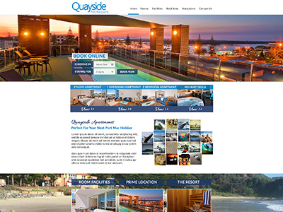 website design example